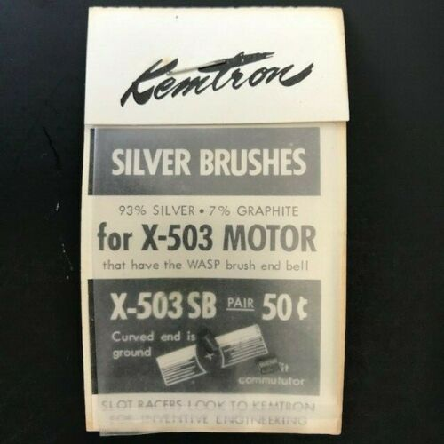 Kemtron X-503 SB Silver Brushes for X-503 NOS