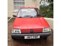 Peugeot 205 Automatic 67k Full Service History. Cam Belts Changed At 44k