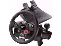 GT force steering wheel + pedals gone asap