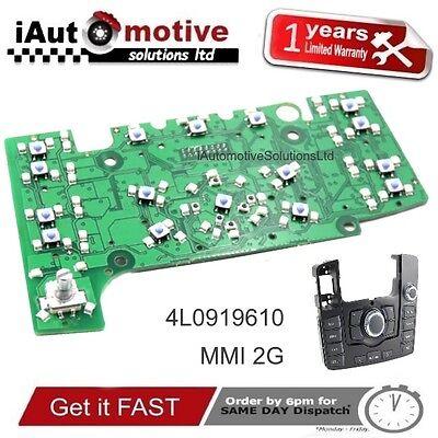 Audi Q7 Mmi 2G Navegación Control Panel Eléctrico Circuito Placa 4L1919610 Sline