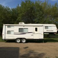 2001 27ft fifth wheel westwind bunk beds 7800 obo