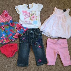LOT of Girl's 12 month Clothing