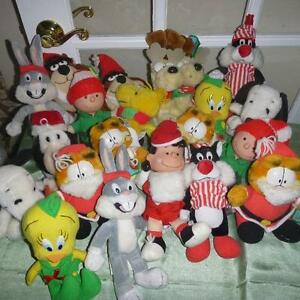 Jouets de collection McDonald`s Collectible Christmas Plushies