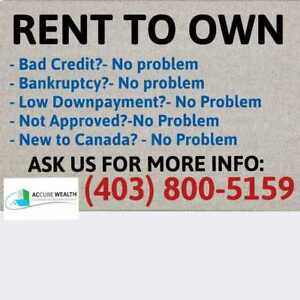 $5-$10K Downpayment for a house in Calgary