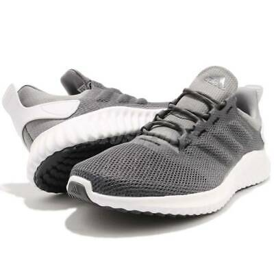 8989b3ffdaaa1 adidas Alphabounce CR Clima Grey White Men s Running Shoes size 11
