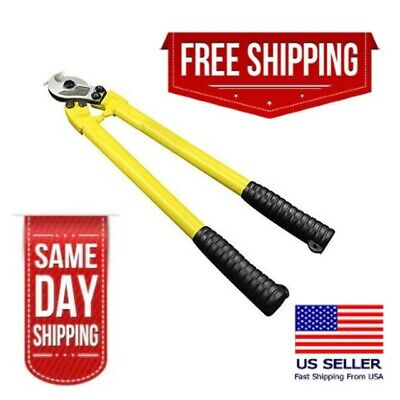 24in-heavy Duty Carbon Steel Cable Cutter-industrial Grade-for Copper Wirecable