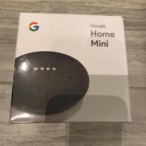 BRAND NEW Google Home Mini (Charcoal or Chalk) - $50