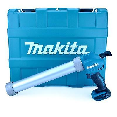 MAKITA DCG180ZBK 18 VOLT LI ION CORDLESS CAULKING SEALANT GUN (BARE UNIT)IN CASE