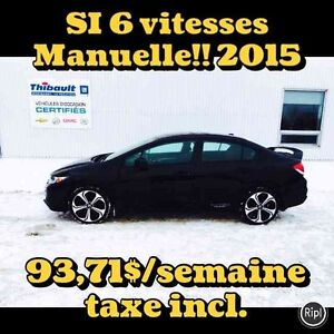 2015 HONDA CIVIC SI BERLINE MANUELLE 6 VITESSES