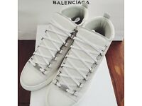 BRAND NEW BALENCIAGA AREANA HIGH TOPS WHITE