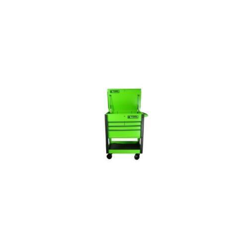 tool cart locking drawer green 75148