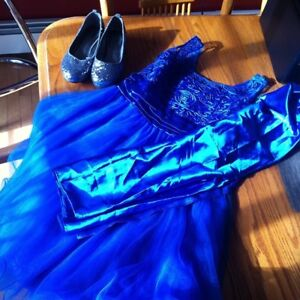 Blue Dress, Size 8