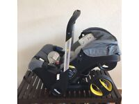 Dooha car seat buggy, Mickey Minnie loads me loads of toys have a look