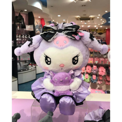 Kuromi Plush Doll Tsundere Cafe My Melody Stuffed Toy Girly Purple 2020 Sanrio