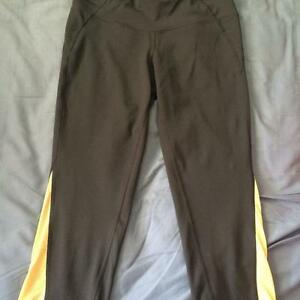 Grey Old Navy Compression Pants