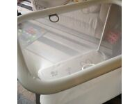 Cosy playpen in an excellent condition
