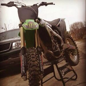 2010 kx250f runs great