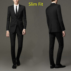 costumes neuf pour hommes , slim fit