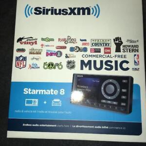 SiriusXM Starmate 8 Radio and Vehicle Kit - new/open box. $55