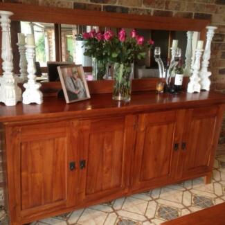 Solid Wood Buffet Belrose Warringah Area Preview