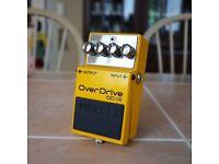 Boss OD-1X Guitar Overdrive Pedal