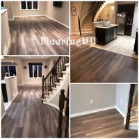 INSTALLATION OF LAMINATE FLOORING STARTING @ 1$ SQFT!!!!