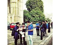 Sales agents required for Cambridge Alumni tours.