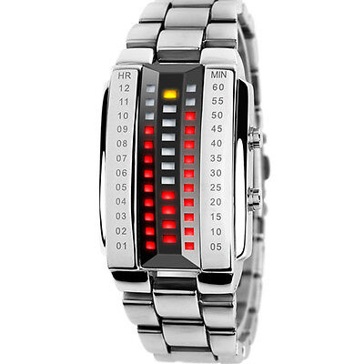 Skmei Mens Womens Outdoor Waterproof Fashion Led Digital Binary Wristwatches