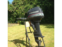 Evinrude- 8HP Short Shaft Two Stroke Outboard Engine 1995- Price Reduced!