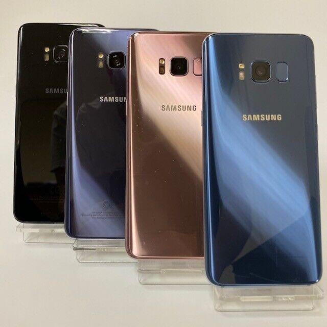 Android Phone - SAMSUNG GALAXY S8 G950 G950F 64GB - All Colours - Smartphone Mobile Phone
