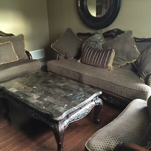 Almost Brand New Ashley Furniture Sofa Set (Ret$4000-Sell$2100)