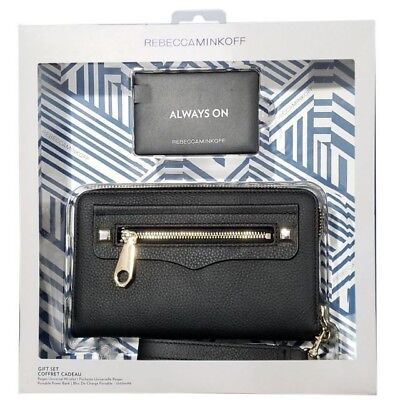 - Gift Set Rebecca Minkoff Regan Universal Wristlet & 2500mAh Portable Power Bank