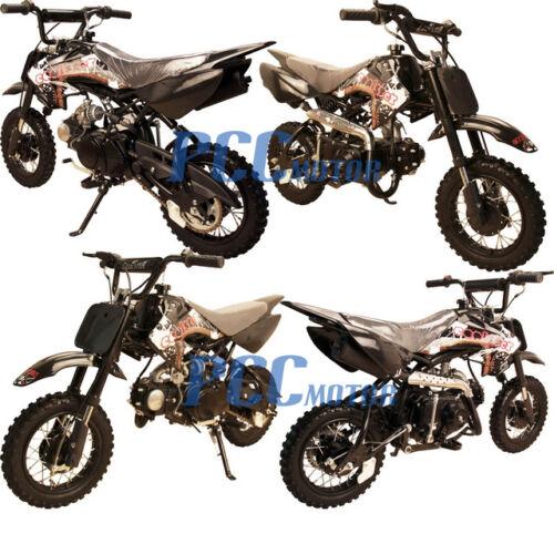 Coolster 70cc Semi-Auto Kids 4 Stroke CRF Style Dirt Bike DB70 Black
