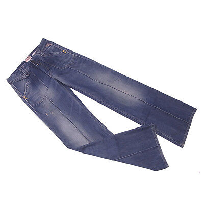 REPLAY Jeans Damaged Denim Ladies Authentic Used C3015