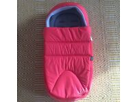 Mamas and Papas Newborn Cocoon in 'Coral Pop'