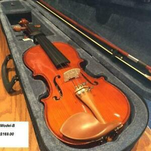 FREE SHIPPING!Brand New VIOLIN/VIOLA/CELLO/BASS for sale from 99