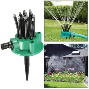 Noodle head - flexible lawn and garden sprinkler