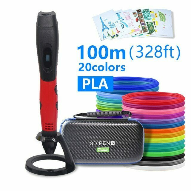 High quality 3D pen 3D printing pen ABS and PLA filament 175mm USB output low