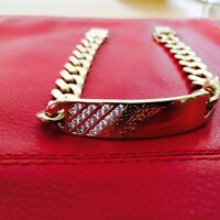 make an offer or trade  Men's highend gold and diamond bracelet