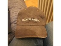 New Kendrick Lamar Untitled Unmastered Grey Tour Merch TDE Top Dawg Entertainment Hat Cap Strapback