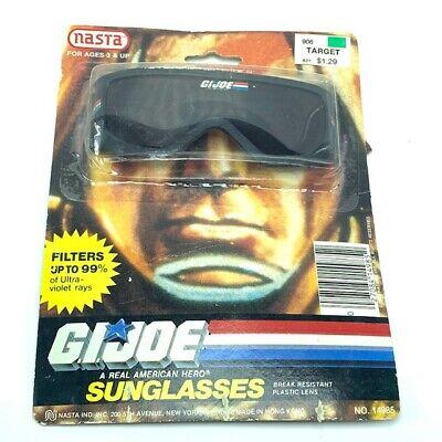 GI Joe action figure hasbro toy cobra 1986 Nasta Sunglasses moc sun glasses (Snake Eyes Sunglasses)