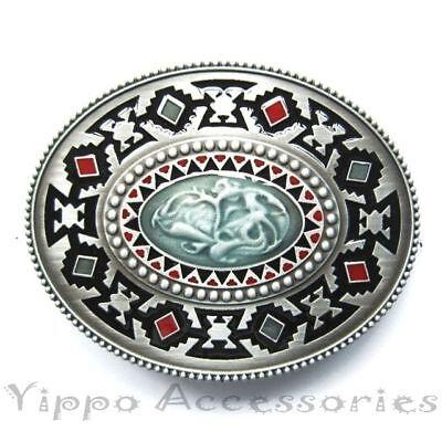 Aztec Western Native Indian Metal Fashion Belt (Fashion Western Buckle)