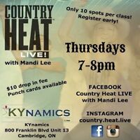 Country Heat LIVE in Cambridge, Thursdays 7-8pm!