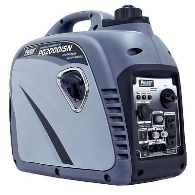 Pulsar 2000 Watts Portable Gasoline Inverter Generator Space Gray PG2000ISN