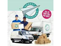 Cheap Man & Luton van Home moves office relocation delivery furniture assembly house clearance