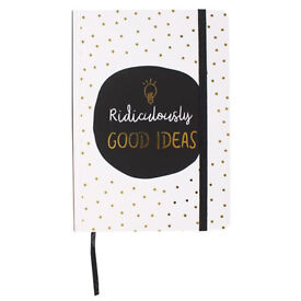 Hardback A5 size notebook - brand new