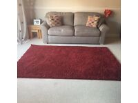 Large red rug exc. condition