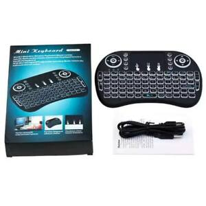 Mini Handheld Remote Keyboard with Touchpad & Backlight