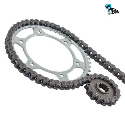 BLACK XRING CHAIN AND SPROCKET KIT TRIUMPH 900 THUNDERBIRD 95 03