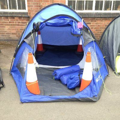 Eurohike Cairns 4 deluxe Tent four berth man person porch blue dome RRP £150